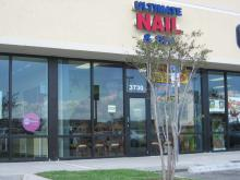 Ultimate Nail and Spa Logo